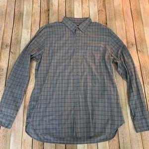 John Varvatos Men's luxe Button Down Shirt